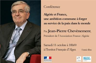 Algérie et France, une ambition commune à forger au service de la paix dans le monde