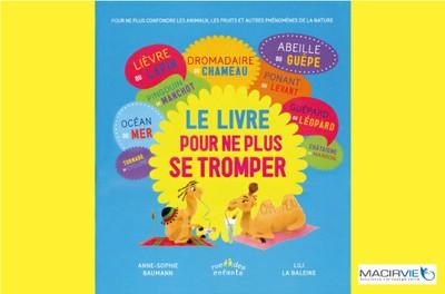 """Animation jeune public """"LE LIVRE POUR NE PLUS SE TROMPER"""" - Sur réservation"""