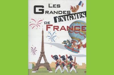 """Animation jeune public  """"LES GRANDES éNIGMES DE FRANCE"""""""
