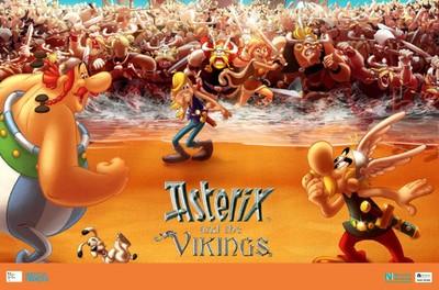 Cinéma d'animation + débat : Astérix et les vikings - Novembre numérique