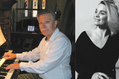 CHANT LYRIQUE ET ORGUE Christian Bacheley à l'orgue - Estelle Béréau, Soprano