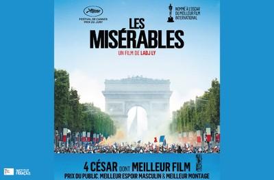 """Cinéma """"Les misérables"""". Deux séances: 15h30 et 18h00 - Sur réservation"""