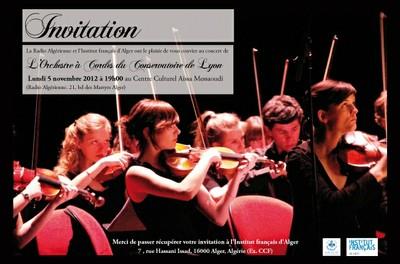 L'Orchestre à Cordes du Conservatoire de Lyon