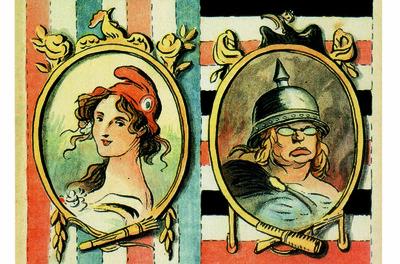 Marianne et Germania (Temps fort Traité de l'élysée)