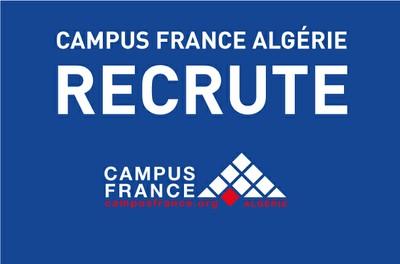 Recrutement d'un (e) Conseiller(e) d'entretien Campus France Alger