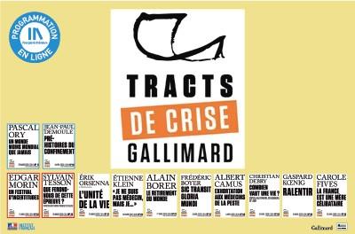 TRACTS DE CRISE GALLIMARD - 3 & 4 / 12