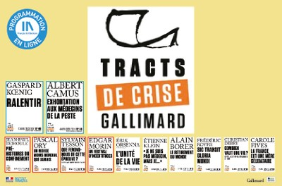 TRACTS DE CRISE GALLIMARD - 5 & 6 / 12