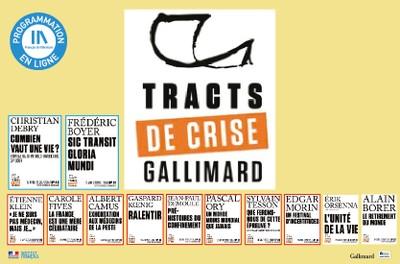 TRACTS DE CRISE GALLIMARD - 9 & 10 / 12