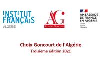 APPEL À CANDIDATURE : CHOIX GONCOURT DE L'ALGÉRIE 2021