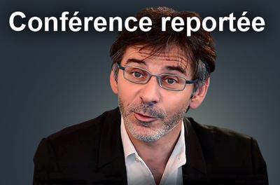 Conférence reportée