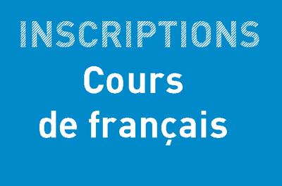 Inscriptions > Cours de français <