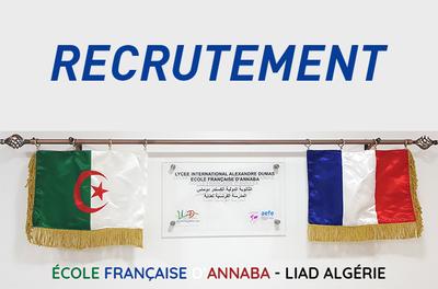 Recrutement > LYCEE INTERNATIONAL ALEXANDRE DUMAS