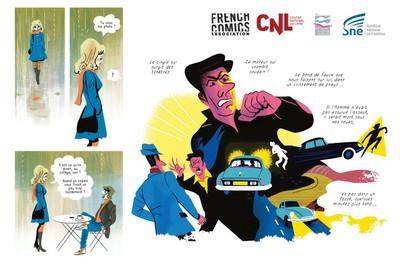 Exposition de bande-dessinée : Bleu, Blanc… Bulles