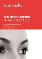 """Programme """"Femmes d'avenir en Méditerranée"""" - Sciences Po Paris"""
