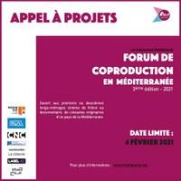 APPEL A PROJETS MEDITALENTS: FORUM DE COPRODUCTION EN MEDITERRANEE