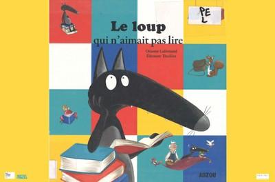 """Animation multimédia jeune public """"L'heure du conte: Le loup qui n'aimait pas lire"""" (4 - 6 ans) - Sur réservation"""