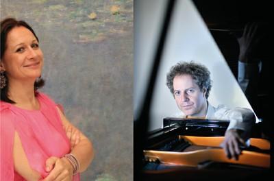 "Chant lyrique ""Un voyage musical romantique de la Seine au Rhin"". Récital piano-chant par Delphine HAIDAN, mezzo-soprano et Nicolas STAVY"