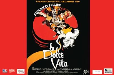 """Cinéma """"La Dolce Vita"""" - Semaine du Cinéma franco-italien du 16 au 23 juin 2019"""