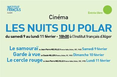 """Cinéma """"LES NUITS DU POLAR à Alger"""" - Entrée libre"""