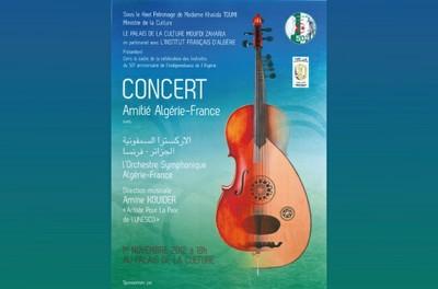 Concert 50ème anniversaire de l'Indépendance de l'Algérie