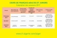 COURS DE FRANÇAIS ADULTES ET JUNIORS
