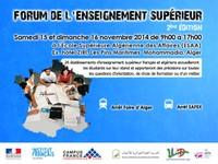 Forum de l'enseignement supérieur - 2ème édition