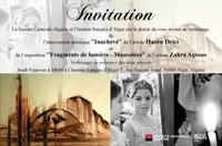 Invitation au vernissage jeudi 9 janvier 2014 à 18h00 à l'Institut français d'Alger