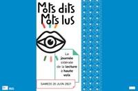 Le cercle des poètes - MOTS DITS MOTS LUS : La journée sidérale de la lecture à haute voix