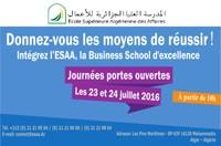 Les journées portes ouvertes de l'École Supérieure Algérienne des Affaires (ESAA)