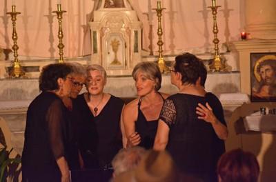 POLYPHONIES CORSES A CAPELLA - Les femmes à l'honneur - Madamicella & Rifà i passi - Cie Musicadines
