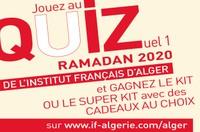 QUIZuel en ligne - RAMADAN 2020