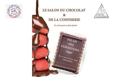 Institut fran ais d 39 alger salon du chocolat de la for Salon du tourisme alger