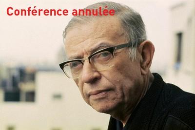 Sartre et le monde. Cette conférence est annulée.