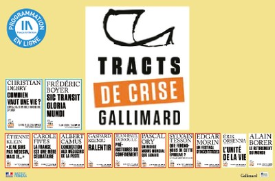 TRACTS DE CRISE GALLIMARD - 9 & 10 / 12
