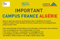 CAMPUS FRANCE ANNABA