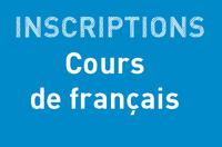 Inscriptions : COURS DE FRANÇAIS