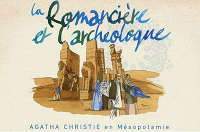 La romancière et l'archéologue