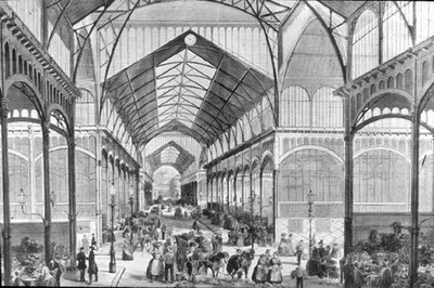 Le Ventre de Paris (Zola), le roman des Halles