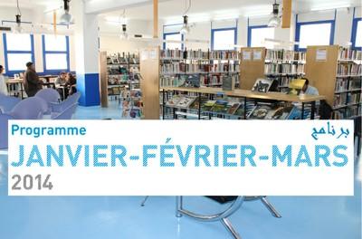 Programme JANVIER / FÉVRIER / MARS