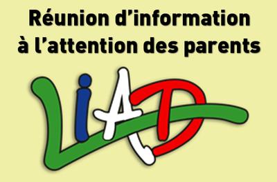Réunion d'information