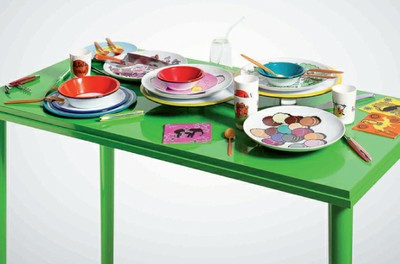 TABLEAUX - TABLES : LES ARTS DE LA TABLE, DESIGN
