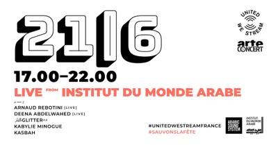 United We Stream France #12 | Live à L'Institut du Monde Arabe