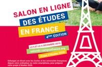 4ème édition du salon en ligne des études en France