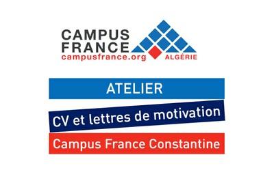 Atelier CV et lettres de motivation Campus France