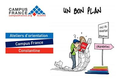 Ateliers d'aide à l'orientation Campus France