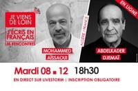 Conférence en ligne :  Je viens de loin, j'écris en français