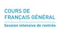 Cours de français général : inscriptions