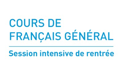 Cours de français général : Session intensive de rentrée