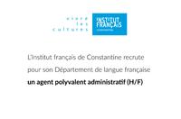 L'Institut français de Constantine recrute
