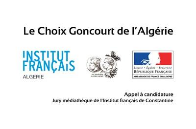 Le Choix Goncourt de l'Algérie